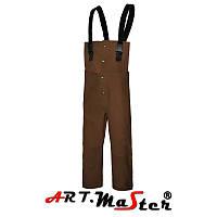 Полукомбинезон рабочий SPli коричневого цвета ARTMAS