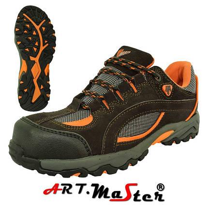 Защитные ботинки BsPort 2 коричневого цвета ARTMAS, фото 2