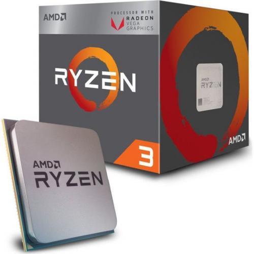 Процессор AMD Ryzen 3 2200G 3.5GHz/4MB (YD2200C5FBBOX) sAM4 BOX