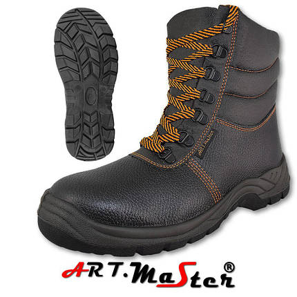 Защитные зимние ботинки BWPuOC черного цвета ARTMAS , фото 2