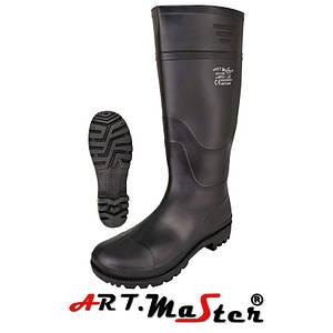 Летние сапоги Bpcv черного цвета ARTMAS
