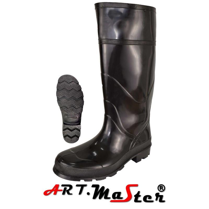 Резиновые сапоги Kalosze Jumbo черного цвета ARTMAS
