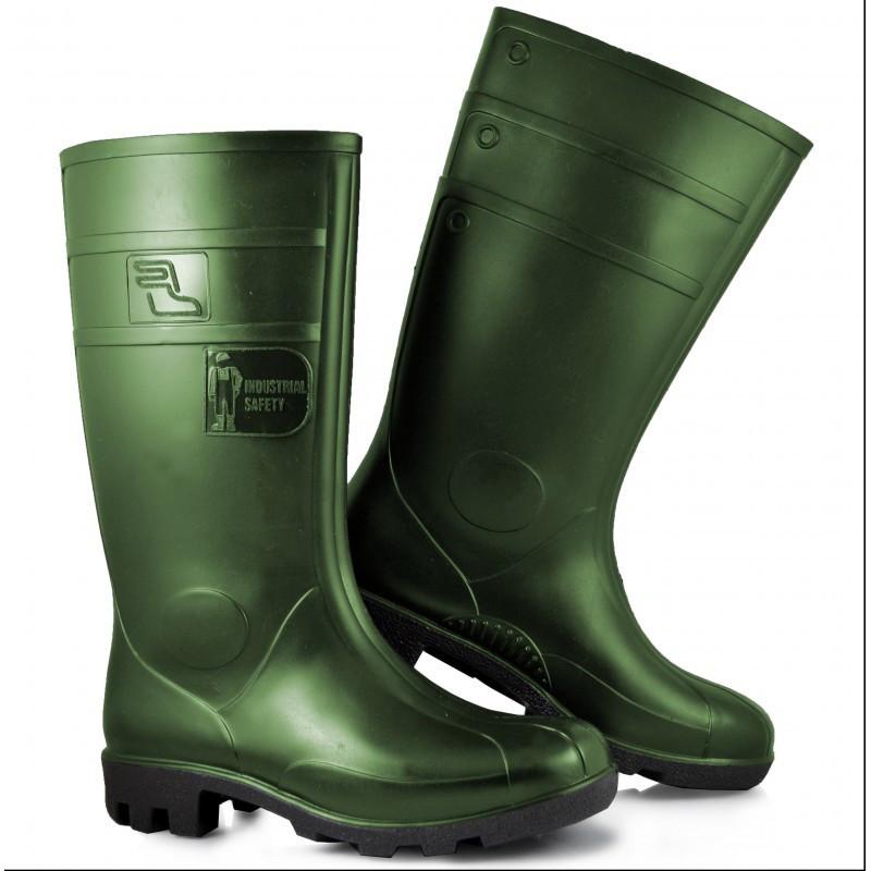 Резиновые сапоги  Kalosze 13157 Sztygar зеленого цвета ARTMAS