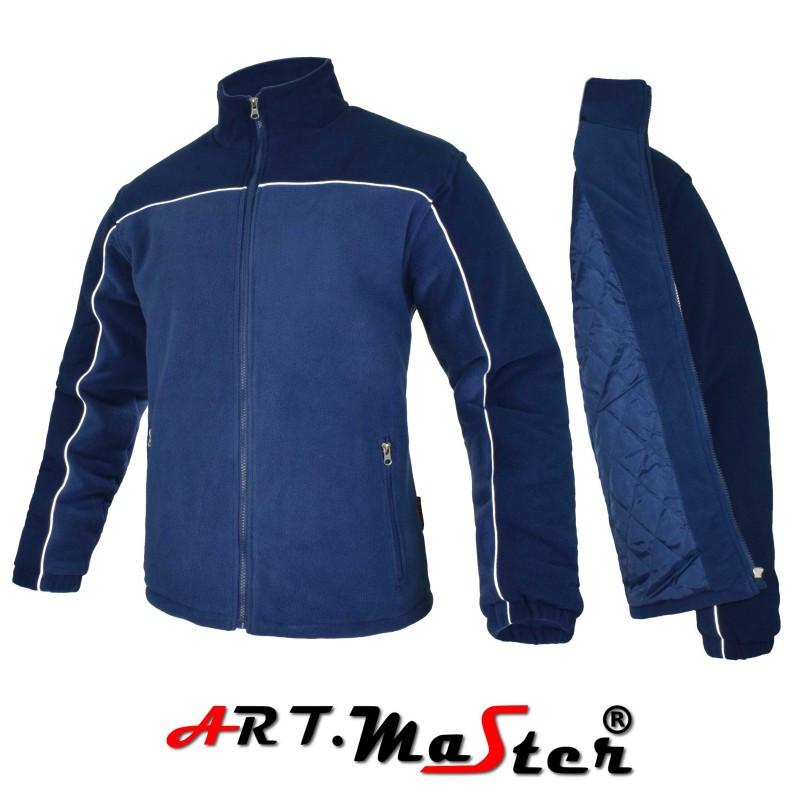 Флисовая куртка POLAR BI+PIK  n.blue/blue синего цвета ARTMAS