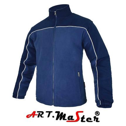 Флисовая куртка POLAR BI+PIK  n.blue/blue синего цвета ARTMAS, фото 2