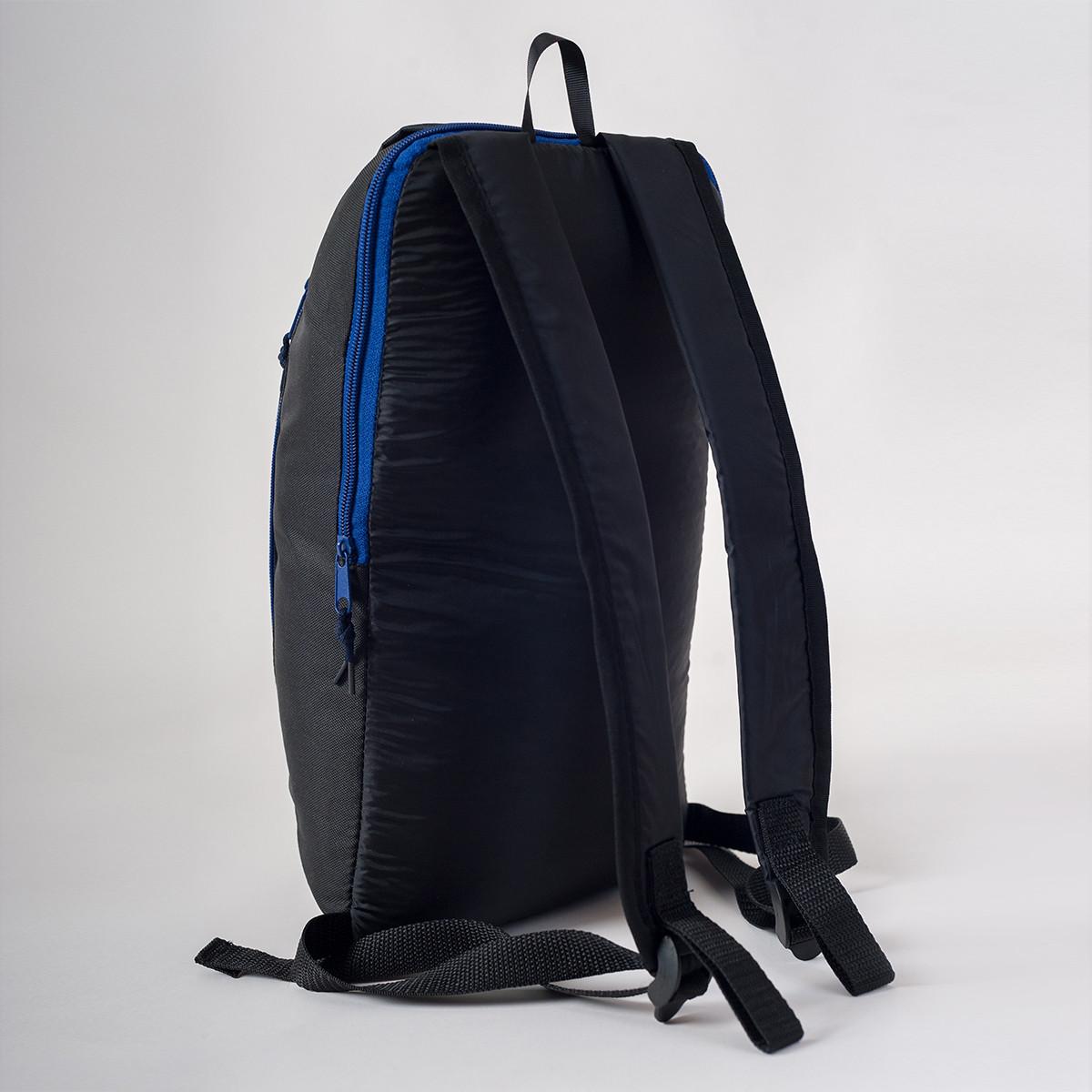 Спортивный рюкзак Mayers 10L, черный / синяя молния, фото 3