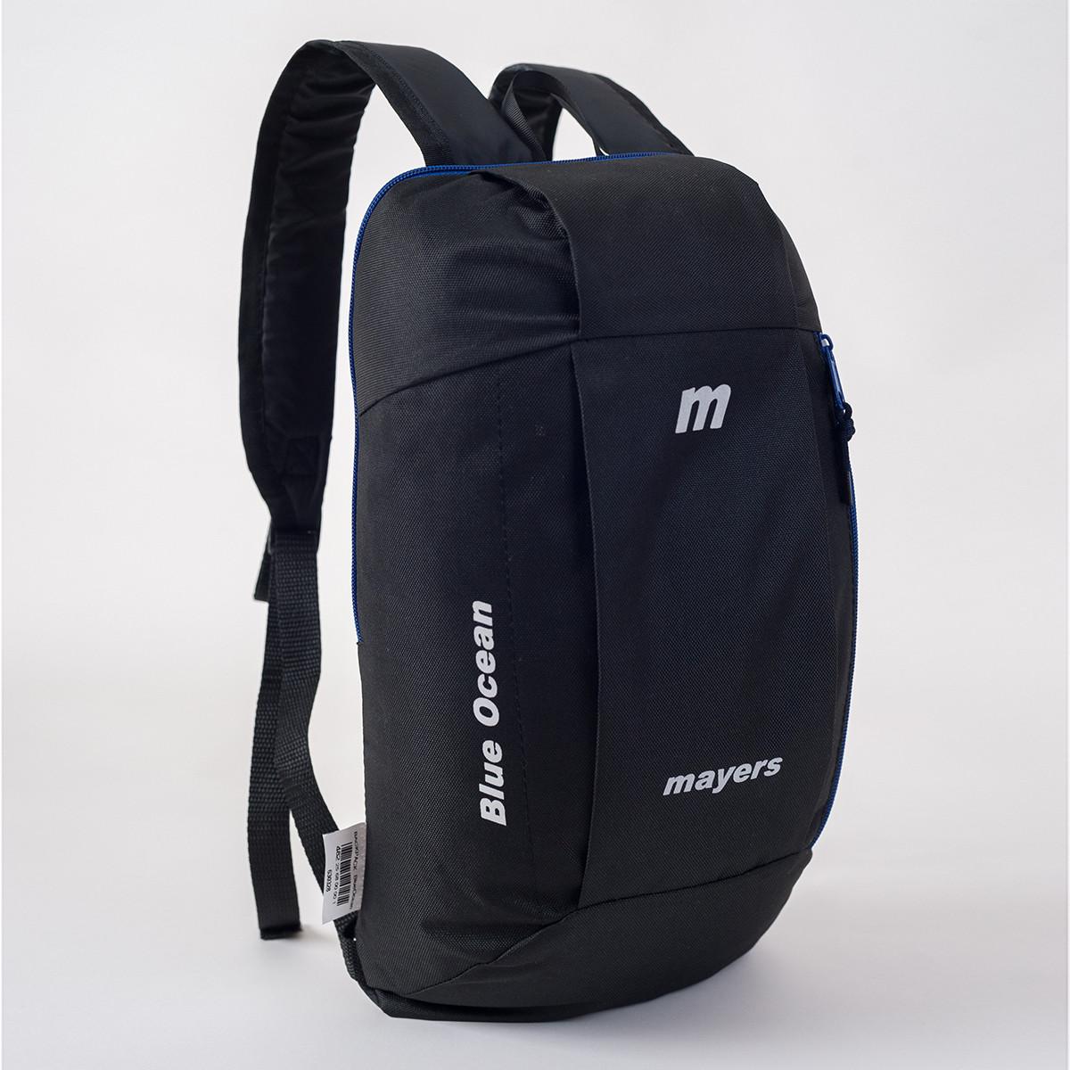 Спортивный рюкзак Mayers 10L, черный / синяя молния, фото 2