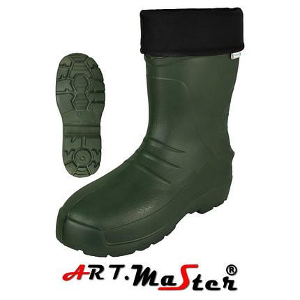 Мужские сапоги Kalosze 56011 TORINO зеленого цвета ARTMAS  47, фото 2