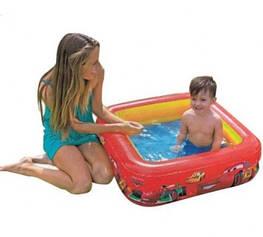 Надувной бассейн Тачки Intex 57101 (85х85х23 см.)
