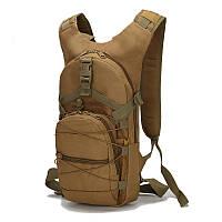 Рюкзак тактический ESDY 15л. (коричневый), фото 1