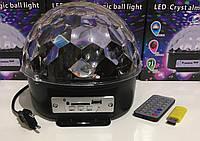 Диско шар MUSIC BALL с USB+SD+Blueеtooth ART-212/2479 (20 шт/ящ)