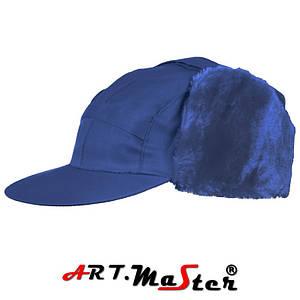 Шапка зимняя CzU - blue синего цвета ARTMAS 58