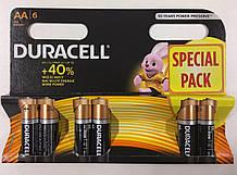 Батарейка Duracell LR06 блистар 1x6 шт.