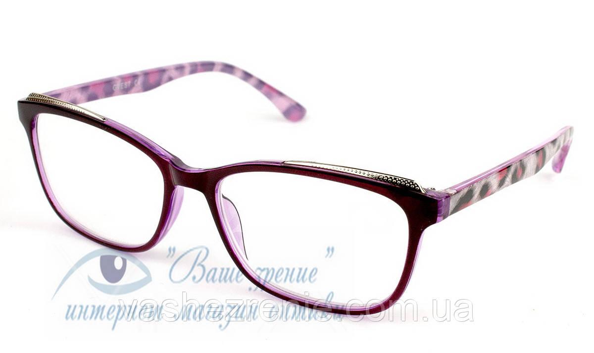 Очки женские для зрения +/- Код:1223