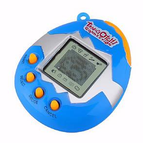 Электронная игра Tamagotchi Виртуальный питомец в яйце Красный (SUN0121) Синий, фото 2