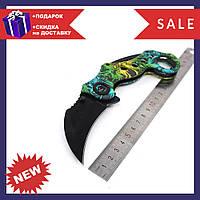 Качественный нож Керамбит череп SOG Karambit для самообороны или туризма