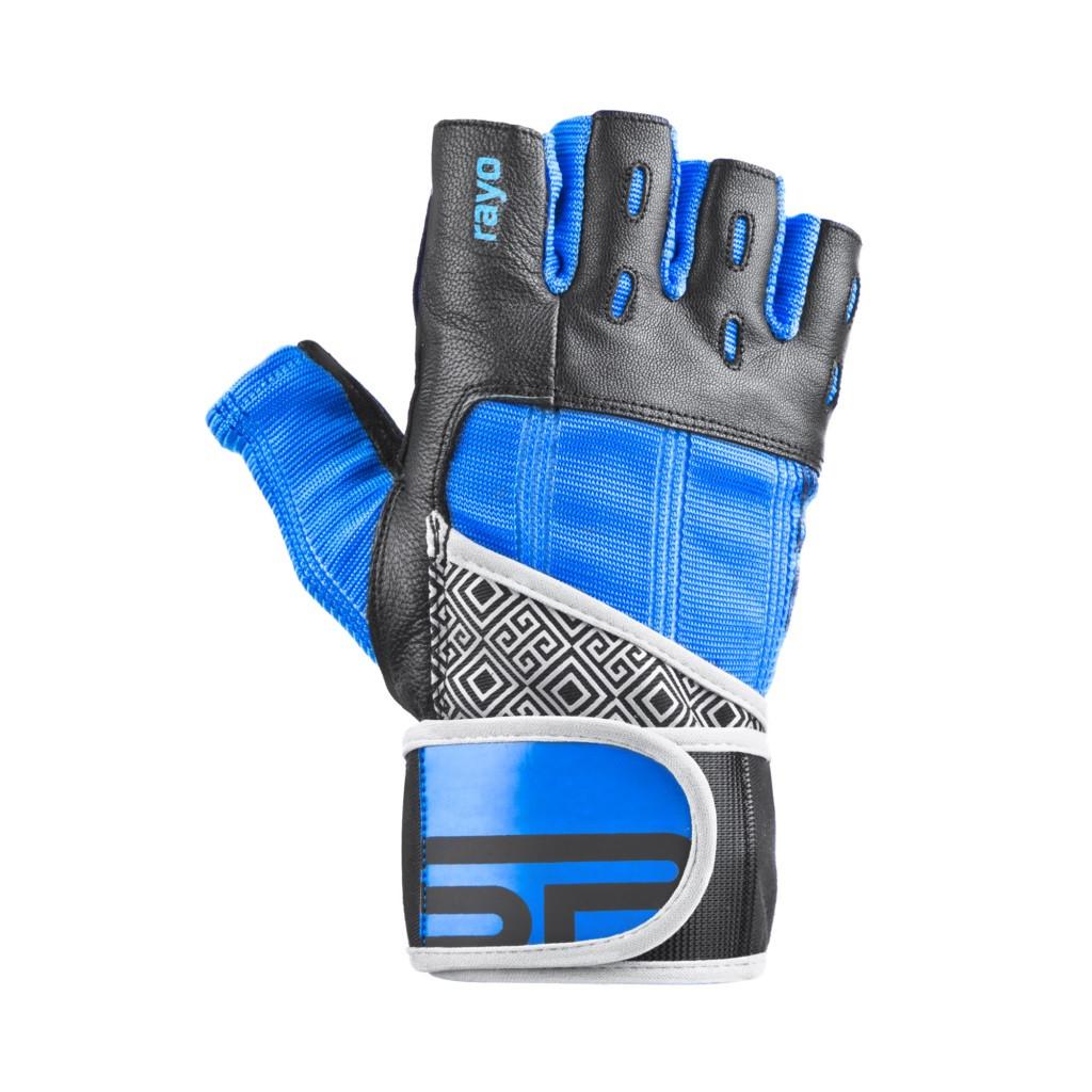 Перчатки для фитнеса мужские Spokey RAYO III XL Черно-синие (s0185)