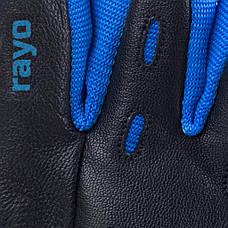 Перчатки для фитнеса мужские Spokey RAYO III L Черно-синие (s0184), фото 2