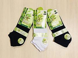 Носки женские летние с сеткой бамбук, укороченные, ароматизированные MILANO Турция, размер 35-39