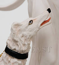 Статуэтка Great Art Дама с собакой 47 см (901800), фото 2