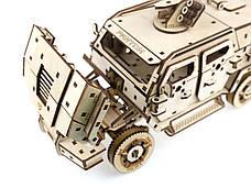 Деревянный 3D-пазл Racor Бронеавтомобиль Fantom 373 элемента 330х170х145 (R10001), фото 2