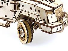 Деревянный 3D-пазл Racor Бронеавтомобиль Fantom 373 элемента 330х170х145 (R10001), фото 3