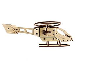 Деревянный 3D-пазл Racor Вертолет U-27 63 элемента 260х250х90 (R10003), фото 2