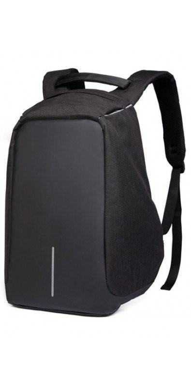 Рюкзак с USB, Bobby small, чёрный, антивор, 23 литра
