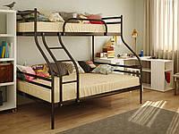 Двухъярусная металлическая кровать СМАРТ (SMART)