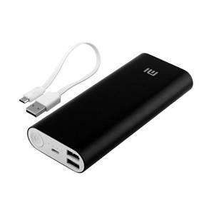 Портативная зарядка для телефона в стиле Xiaomi Power Bank 20800 mAh черный 149784