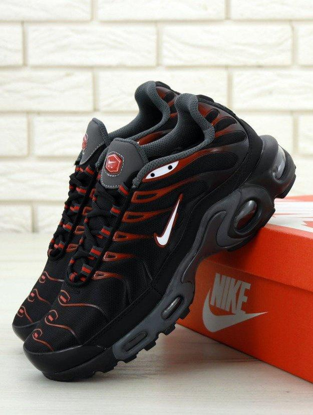 Мужские кроссовки Nike Air Max Tn Plus Black