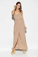 Легкое платье в пол с открытой спиной в 3 цветах!, фото 1