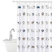 Штора для ванной комнаты Tatkraft 180 х 180 см Веселые Овечки (14862)