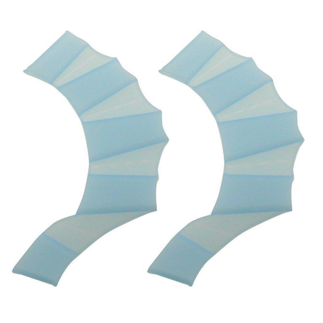Ласти для рук Seagard Easybreath силіконові L Блакитний (SUN1007)