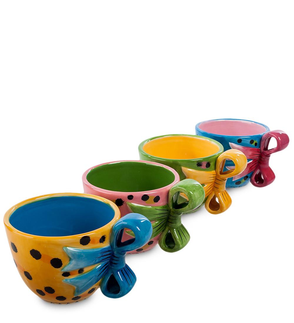 Набор чайных чашек Pavone 250 мл 4 шт (103098)
