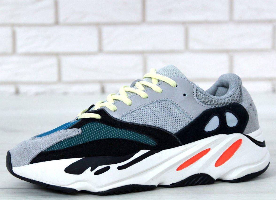 964b7fc29 Мужские кроссовки Adidas Yeezy Boost 700 Wave Runner Grey -  интернет-магазин обуви «Walking
