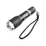 Тактический фонарик Police BL-1860 T6 50000W Black (hub_np2_1220)