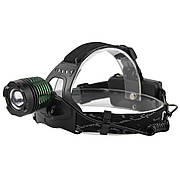 Налобный фонарь X-Balog BL-2188 T6 50000W Черный (0941)