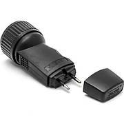 Ручной фонарик DIK 528 Black (1162)