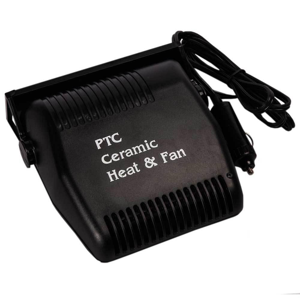 Автомобильный воздушный вентилятор Heater Fun обогреватель SG006 Черный (hub_np2_0487)