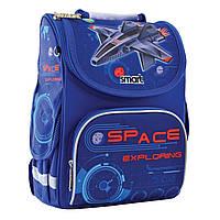 """Рюкзак шкільний каркасний ортопедичний для хлопчика PG-11 """"Space"""", SMART"""