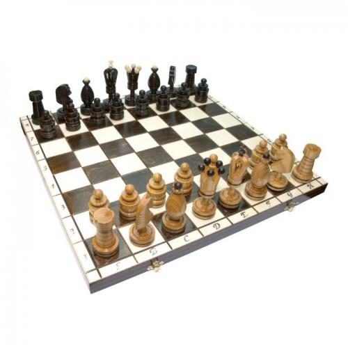 Шахматы Madon Королевские большие инкрустированные 49.5х49.5 см (с-107)