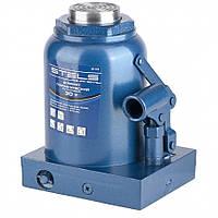 Домкрат гидравлический бутылочный, 30 т, h подъема 244-370 мм // STELS