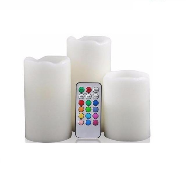 Набор светодиодных свечей LED Luma Candles 12 цветов хамелеон (648661659A)