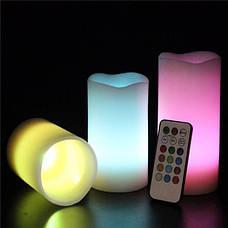Набор светодиодных свечей LED Luma Candles 12 цветов хамелеон (648661659A), фото 3