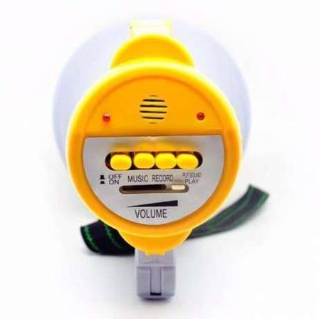 Громкоговоритель MEGAPHONE HW 8C Бело-желтый (55500995), фото 2