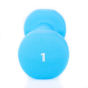 Гантели для фитнеса Spokey SHAPE IV 2 х 1 кг Голубой, фото 2