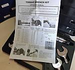 Динамометрический  набор ключей 17, 22, 24, 27, 29 мм Shine Year CH-STW-07, фото 3