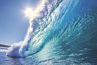 Фотообои флизелиновые 3D Море 375х250 см Морская волна (MS-5-0214)