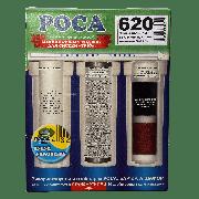 Комплект картриджей Роса thai carbon block с кварцем 620